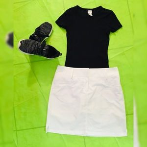 Adidas short skirt sports cool weather Size 8